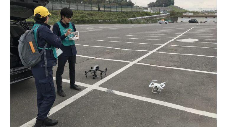 使用UAV DJI Inspire/DJI Phantom【鈴鹿サーキット】