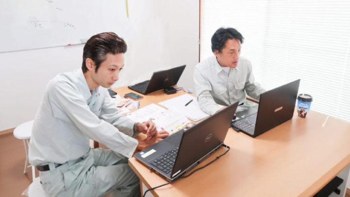 SGM川口太助(左)宮川栄幸(右)